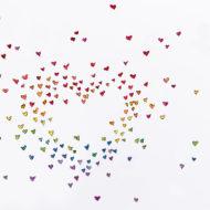 Rainbowheartsdetail